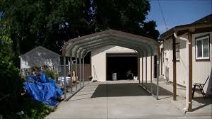 Open Carport by How To Install Steel Carport In 45 Minutes Youtube
