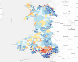 Where Is Wales On The Map Welsh Index Of Multiple Deprivation Wimd 2014