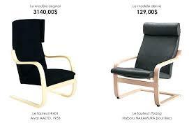 fauteuil design bureau chaise haute bureau chaise design ikea la chaise par alvar aalto