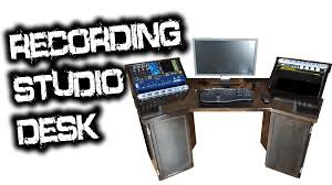 recording studio workstation desk recording studio desk for glenn fricker youtube