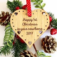 first 1st christmas in our new home decoration gift amazon co uk