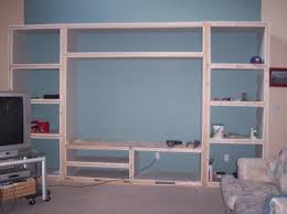 wall unit plans free entertainment center plans how to build an entertainment