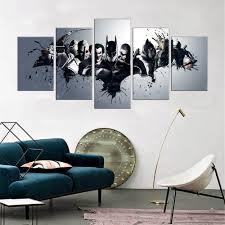 popular batman wall art buy cheap batman wall art lots from china batman wall art
