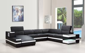 modern bonded leather sectional sofa divani casa 1201 modern bonded leather sectional sofa