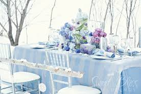 blue and silver wedding flavour of the week soft blue