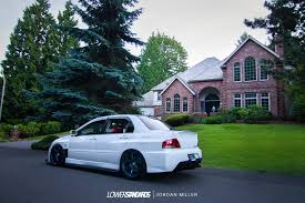 mitsubishi evo stance elree u0027s 2006 lancer evolution ix mr lower standardslower standards