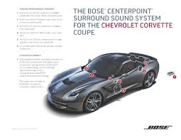 bose home theater amplifier bose introduces two new sound systems for the 2014 chevrolet