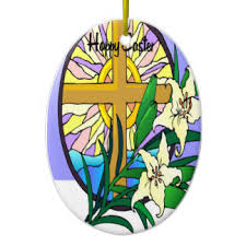 Christian Easter Decorations Uk by Christian Easter Christmas Tree Decorations U0026 Ornaments Zazzle Co Uk