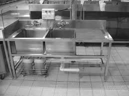 Restaurant Kitchen Sinks Stainless Steel Sink With 2 Bowls And Drain Table For Restaurant