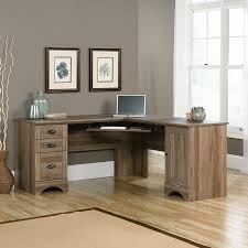 L Shaped Glass Desk With Drawers by Furniture Attractive L Shaped Computer Desk For Modern Home