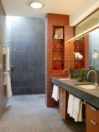 25 best orange tile bathroom ideas houzz