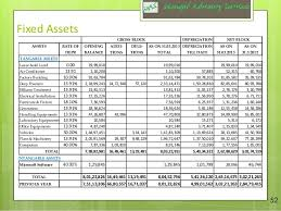Fixed Asset Register Excel Template Sle Due Diligence Report