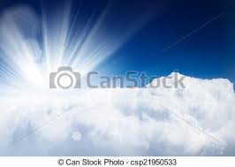 blue sky with clouds and sun background stock photos search
