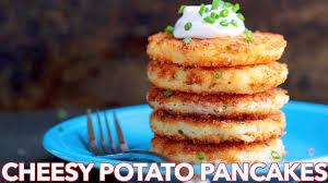 where to buy potato pancakes breakfast cheesy potato pancakes recipe s kitchen