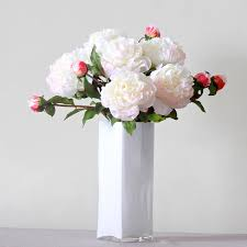 artificial flowers cheap luxury artificial pink peony amaranthine blooms