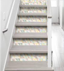 stickers livres trompe l oeil stickers de contremarche et stickers pour escaliers