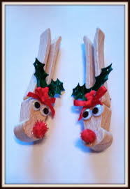 double treble craft adventures clothespin reindeer pin or magnet