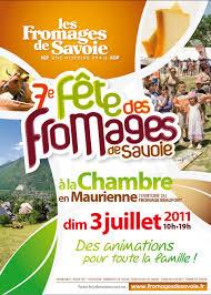 la chambre savoie 7ème fête des fromages de savoie juillet 2011