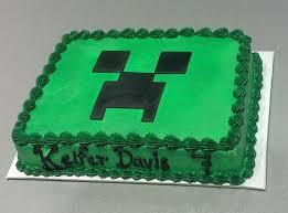 minecraft birthday cake ideas minecraft creeper birthday cake ideas birthday cake ideas me