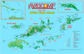 Map Of The Caribbean Map Of Usvi And Bvi 5 The British Virgin Islands World Maps