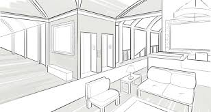 Bedroom Design Drawings How To Draw With Two Point Perspective Making Beautiful Interiors