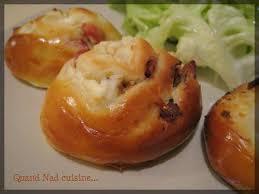 quand nad cuisine escargots briochés chèvre lardons et jambon bolo quand nad cuisine