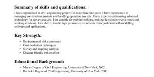 Industrial Engineer Resume Examples by Civil Engineering Career Info Civil Engineering Career Resume