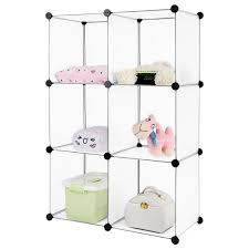 System Build 6 Cube Storage by Amazon Com Langria Modular Shelving Diy Closet Organization