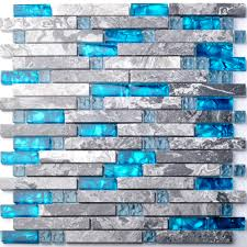 kitchen glass tile mosaic sea glass backsplash mosaic backsplash