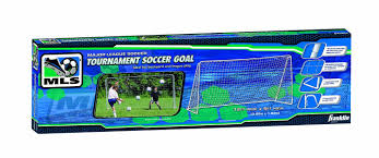 amazon com franklin sports mls tournament goal 6 u0027 x 12 u0027 silver