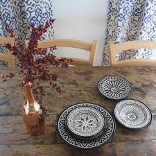 safi black appetizer plates set of 4 accompany
