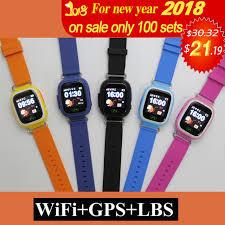 aliexpress location gps q90 wifi positioning kids children smart baby watch sos call