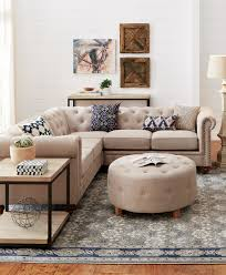 Chesterfield Style Sofa by Not Your Average Sectional This Chesterfield Style Piece Has