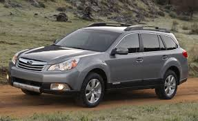 subaru wagon 2011 2011 subaru legacy outback pricing announced car and driver blog