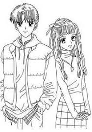 cute anime coloring pages bing images draw