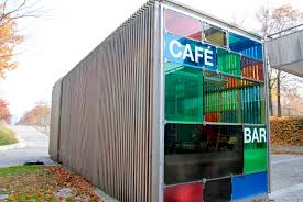 shipping container cafe google search shipping containers