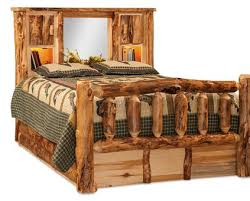 log bedroom furniture amish log bedroom furniture