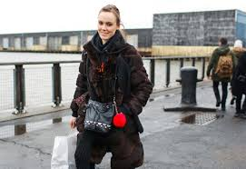 50 of the best street style statement coats colorful faux fur