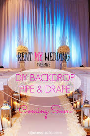 Wedding Drapes For Rent 55 Best Pipe U0026 Drape Uplighting Images On Pinterest Wedding