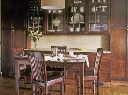 Built In Cabinets In Dining Room by Oak Kitchen Cabinets Pictures Ideas U0026 Tips From Hgtv Hgtv