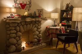 paper fireplace binhminh decoration