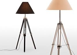 navy tripod floor lamp brings nautical touch to floor lamp