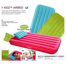 intex beds intex inflatable air bed 66801 cozy kids with pump as seen on tv
