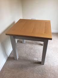 m u0026 s padstow square extending table in hemel hempstead
