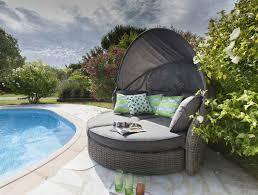 canap de jardin 2 places stunning salon de jardin design arrondi contemporary amazing house