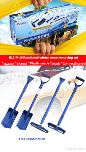 2018 snow and ice tool set car home snow shovel ice shovel water