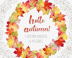 Fall Wreaths Fall Wreaths Clipart Fall Leaves Clipart Autumn Leaves