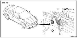 nissan rogue service manual wiring diagram srs airbag control on