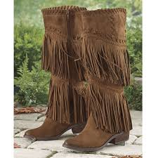 del rio fringe boots western wear equestrian inspired clothing