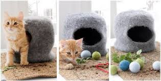 knitting pattern cat cave cat cave felted knit house free knitting pattern
